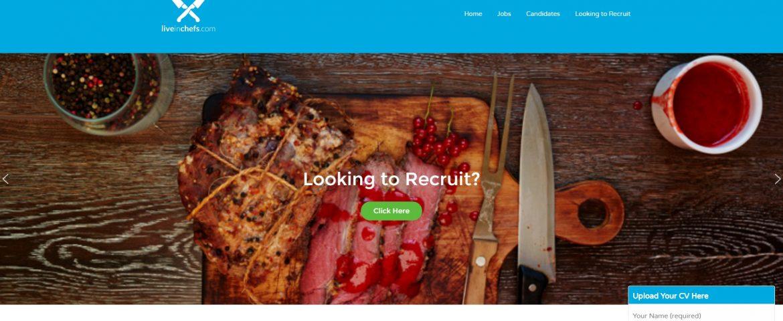 wordpress website for liveinchefs.com
